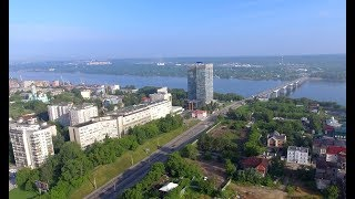 Perm Russia 4K. City - Sights - People