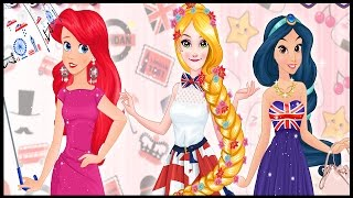 Princesses London Vs Tokyo - Disney Princess Games For Kids