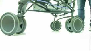 Обзор коляски Jetem Holiday(Коляска Jetem Holiday: - Современная, лёгкая, компактная, прочная и надежная коляска-трость. - Облегченная рама..., 2012-07-19T17:37:46.000Z)