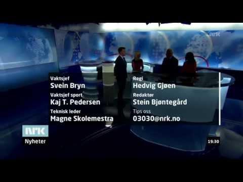 NRK Dagsrevyen outro