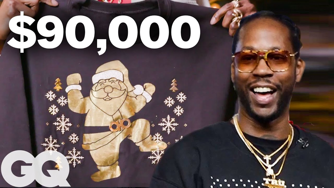 2 Chainz Makes A 90k Ugly Christmas Sweater Most Expensivest Sht
