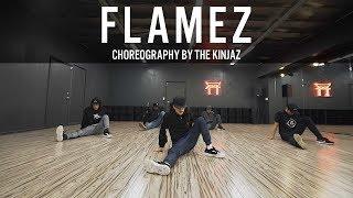 """TroyBoi """"Flamez"""" Choreography by The Kinjaz"""