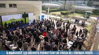 La Minute éco : à Marseille, les eaux usées et les déchets permettent de créer de l'énergie verte