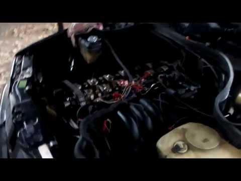 Замена цепи ГРМ Mercedes c280 W202 мотор м104 Видео-2