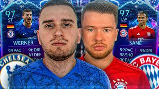 FIFA 20: SANE BAYERN vs WERNER CHELSEA TRANSFER SQUAD BUILDER BATTLE🔥🔥