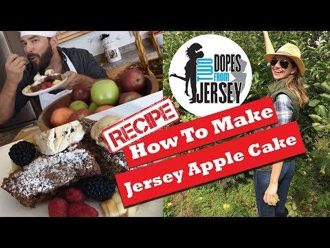 Jersey Apple Cake