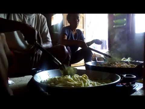 Kue akar kelapa n tutorial cara menggorengnya