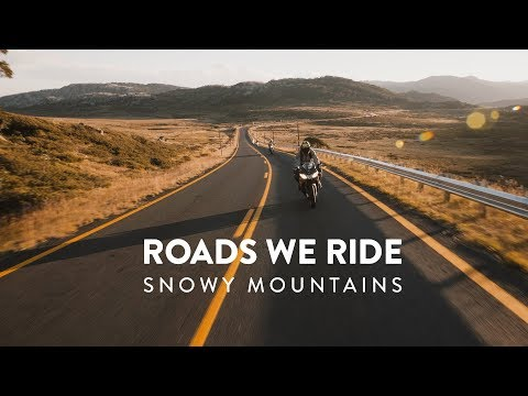Roads We Ride | Snowy Mountains
