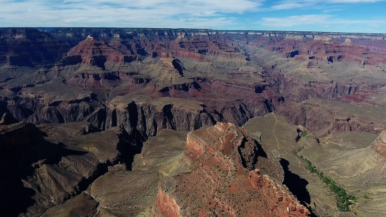 Grand Canyon 4K Drone footage USA/ Гранд-Каньон - США