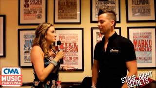 chase bryant interview at cma fest 2015