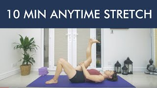 10 MIN STRETCH - HIPS & HAMSTRINGS