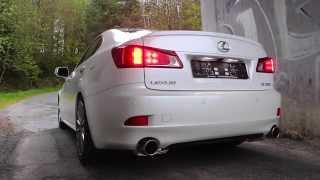 lexus is 250 invidia cat back exhaust sound skyisnolimit media