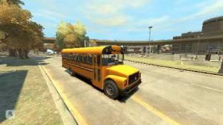 GTA IV School Bus Mod