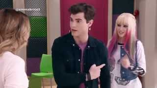vuclip Violetta 3 - Diego y Francesca le dicen a Violetta que fingen ser novios por Andrés (03x32)