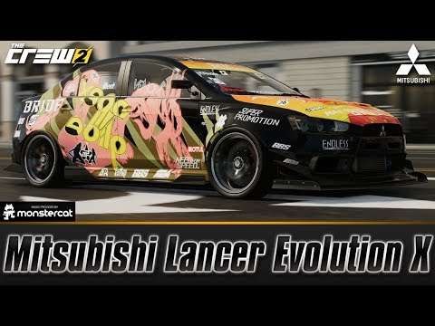 The Crew 2: Mitsubishi Lancer Evolution X | FULLY UPGRADED | NEW JDM KING OF STREET RACE