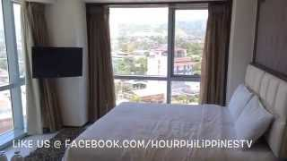 Quest Hotel Cebu Deluxe Room Pool View by HourPhilippines.com