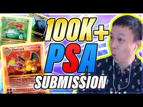 $100,000+ PSA Submission?! - Insane Vintage Pokemon Cards