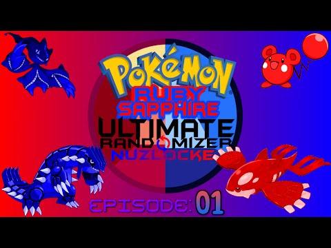 Pokemon Ruby/Sapphire Ultimate Randomizer Nuzlocke Co-Op:  Part 1 - A Series of Unfortunate Events