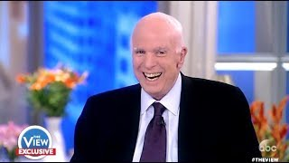 McCain: Laughs Hysterically When Ask If He Was Scared Of TRUMP - The View