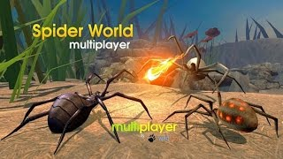 🕷🕸👍Spider World Multiplayer -  Wild Foot Games Role Playing - iOS/Android