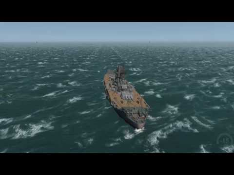 LSH3 IJN Yamato vs USS Iowa and USS Missouri