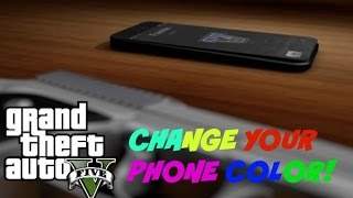 GTA 5 Online: Change Your Phone Color!