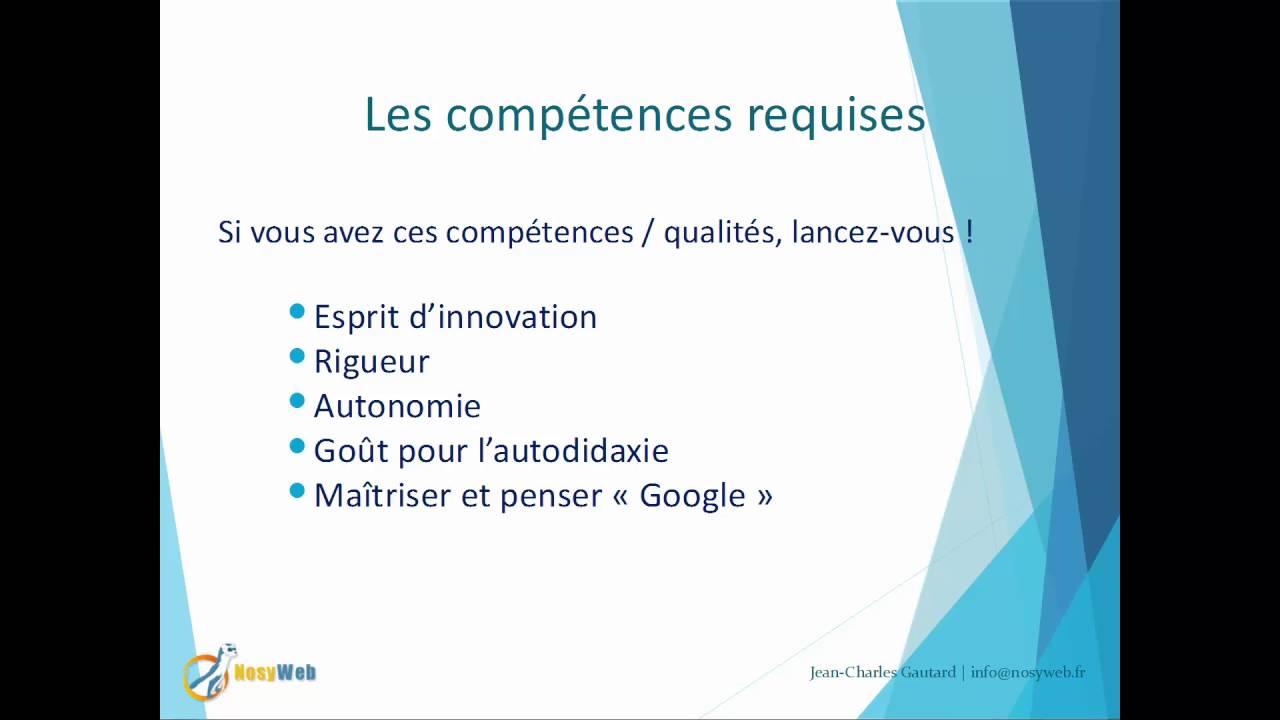 Projet sous Joomla - Les compétences / qualités requises (ou à assimiler)
