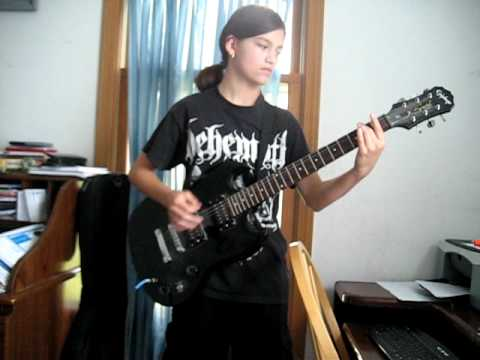 OTEP- Ghostflowers (guitar cover)