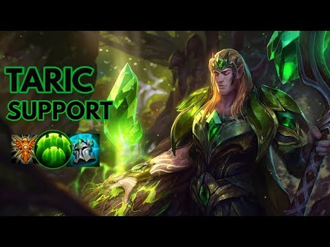 Emerald Taric Support-League of Legends Full Gameplay