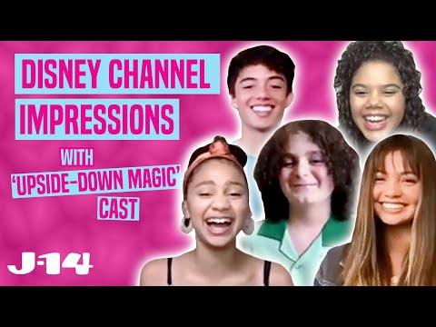 Upside-Down Magic Cast Does Disney Channel Impressions