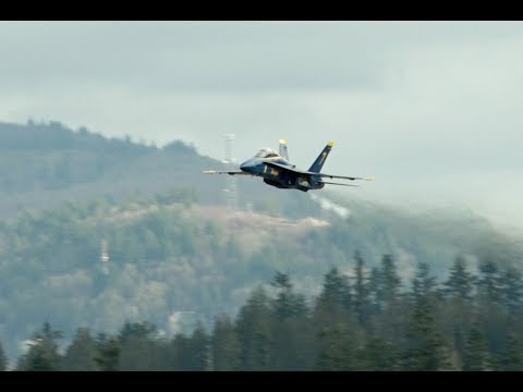 Blue Angel No.7 Departure at Abbotsford International Airport YXX