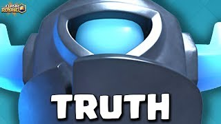 The Story Of Mini PEKKA! Who Is Inside And How Was It Created? Clash Royale [ReTrex]