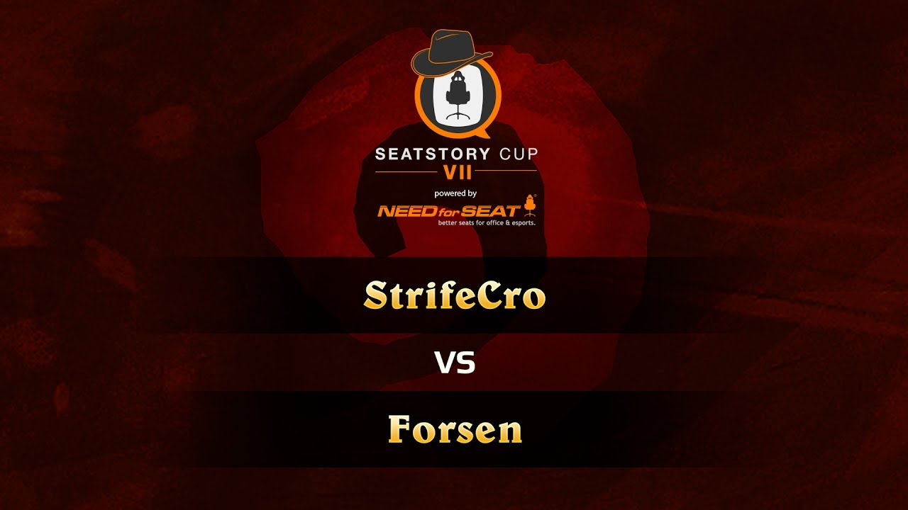 StrifeCro vs Forsen, SeatStoryCup 7 Group Stage