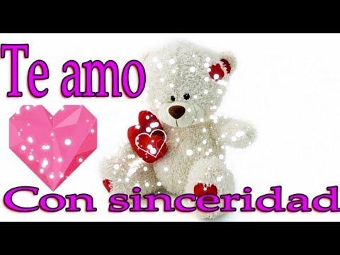 Te amo con sinceridad | Poemas, frases y pensamientos de amor | MegaEveralda