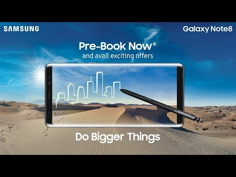 Samsung Galaxy Note8 – Pre-book offer