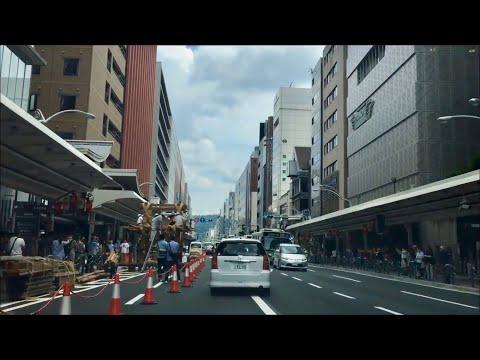 Drive Video in Kyoto city  Japan Street View
