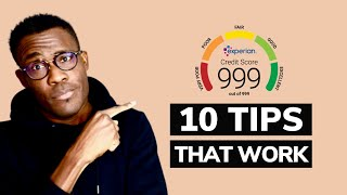 How to improve my credit score UK  10 tips that work