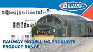 Railway Modelling Products - Product Range