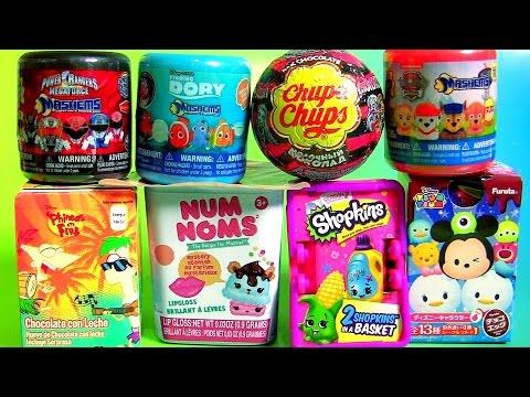 Mashems Fashems Finding Dory Surprise Toys NUM NOMS Chupa Chups SHOPKINS Disney Tsum Tsum