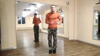 1. ЗУМБА фитнес. Базовые шаги ЗУМБЫ (сальса, шаг из стороны в сторону)