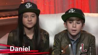 Katherine y Daniel quieren regresar a LVK   | La Voz Kids 2016