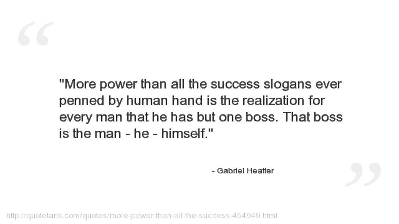 Gabriel Heatter Quotes - YouTube