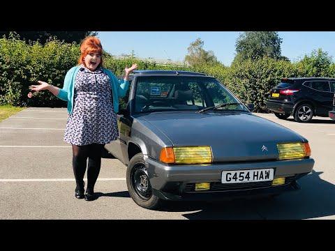 IDRIVEACLASSIC reviews: 80s French classic car Citroen BX