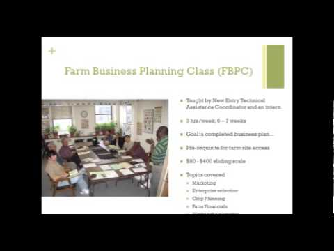National Incubator Farm Training Initiative (NIFTI) Webinar #3 - Curriculum Development