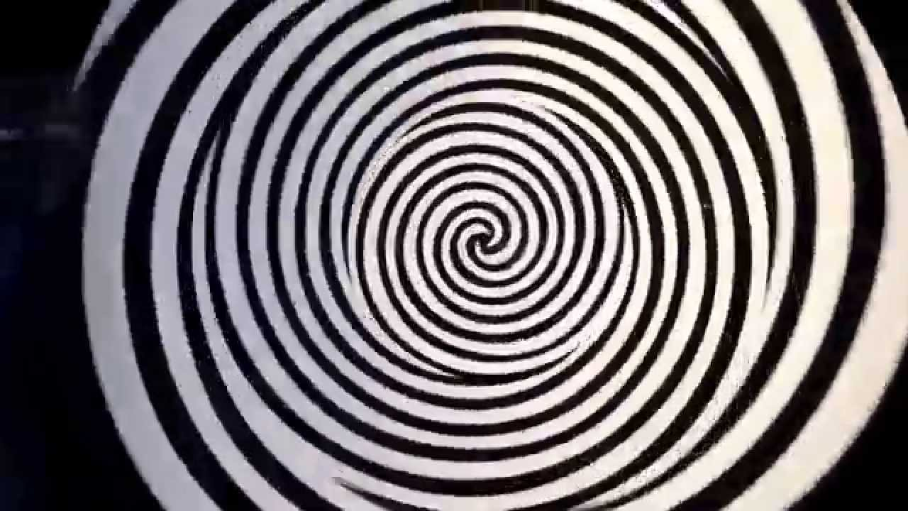 illusion circle optical stare second hand center illusions