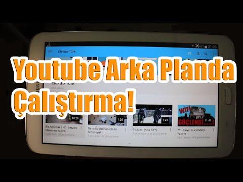 Android Youtube Arkaplanda Çalıştırma
