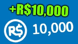 Getting 10,000 Robux In 10 Minutes? (Roblox)