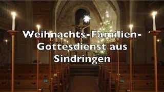 Weihnachts-Familien-Gottesdienst aus Sindringen