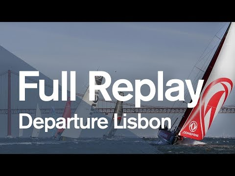 Leg 2 Start in Lisbon - Full Replay | Volvo Ocean Race