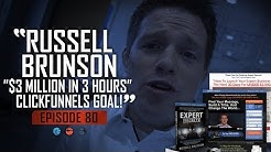 "Russell Brunson's Insane ""$3 Million In 3 Hours"" ClickFunnels Goal!"